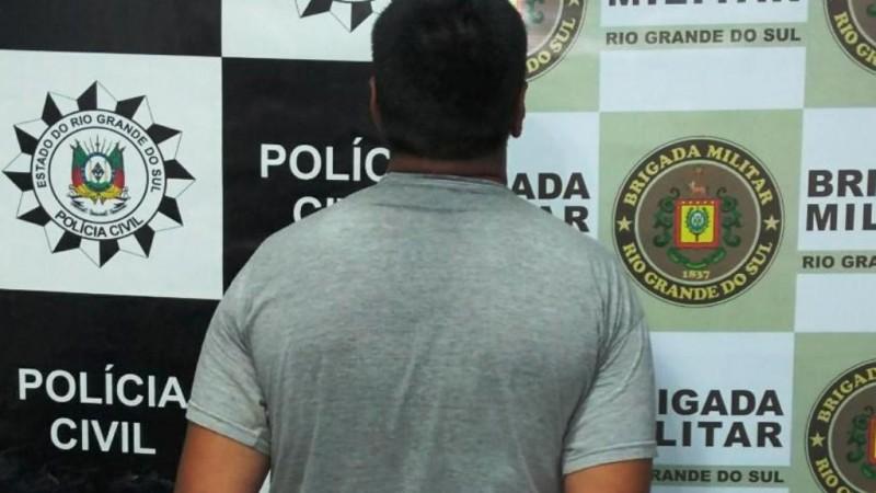 Ação em flagrante entre Polícia Civil e Brigada Militar prende em flagrante autor de homicídio em São Luiz Gonzaga