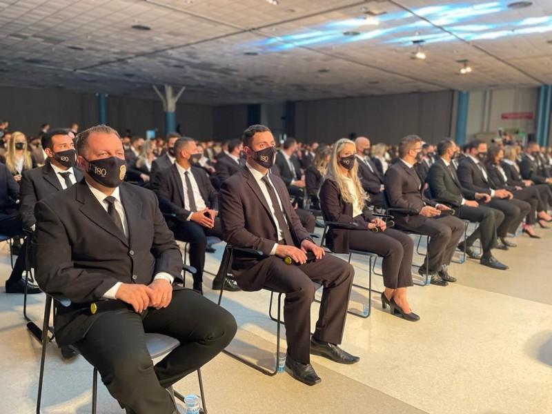 Agentes de 17 estados brasileiros compuseram a turma de formandos